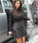 Kim, Kardashian arriving at the Dash Miami store in Miami, Florida on September 16, 2012.