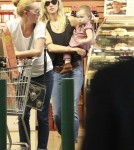 Actress Kimberly Stewart was seen making a trip to Whole Foods with her daughter, Delilah Stewart, in Los Angeles, California on August 31, 2012.