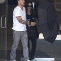 Couple Megan Fox and her husband Brian Austin Green stopping by a doctors office to have a check up on their unborn baby in Los Angeles, California on September 23, 2012.