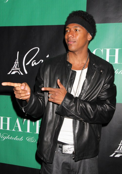 Nick Cannon makes his return to Chateau's DJ booth at the Chateau Nightclub & Gardens located in the Paris Hotel and Casino in Las Vegas, Nevada on June 23, 2012.