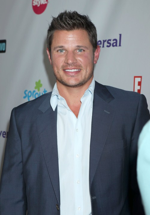 "Nick Lachey Is In ""Chessy"" Daddy Mode"
