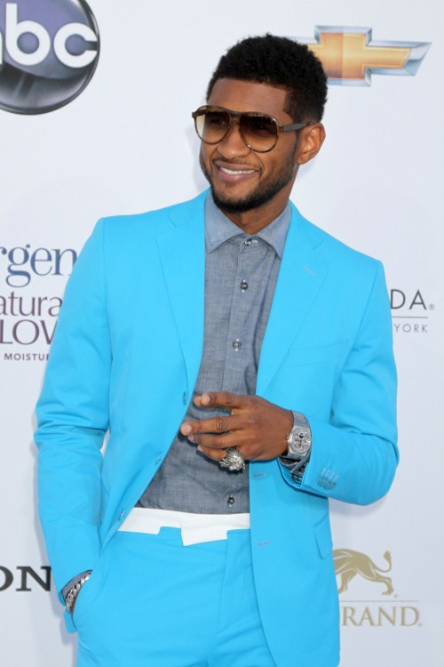 Usher at The 2012 Billboard Music Awards at the MGM Grand Hotel and Casino in Las Vegas, Nevada on May 20, 2012.