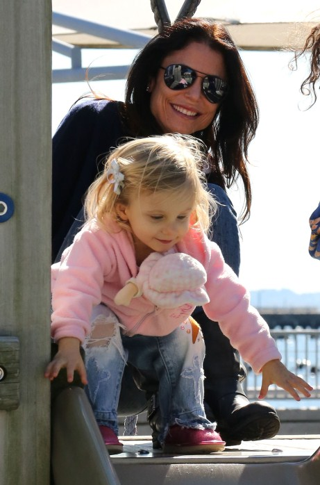 Real Housewife Bethenny Frankel Takes Her Daughter Bryn