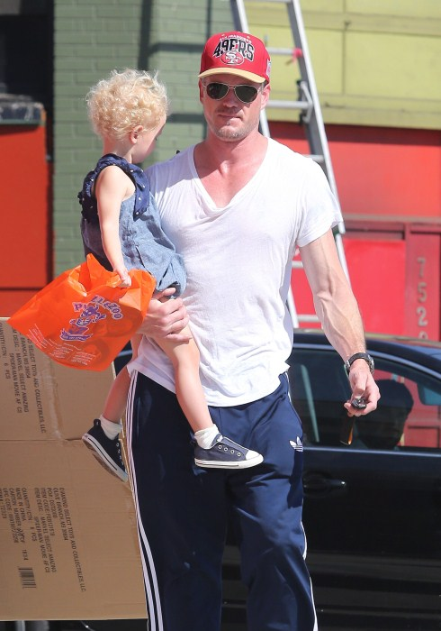 Cute Daddy Alert: Eric Dane & Billie Have A Shopping Day