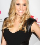 Kristin Cavallari hosts the ULTA Beauty's 'Donate With a Kiss' event at Jimmy in the James Hotel in New York City, New York on October 2, 2012.