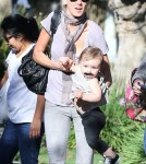 Exclusive... Kimberly Stewart Takes Delilah To A Class