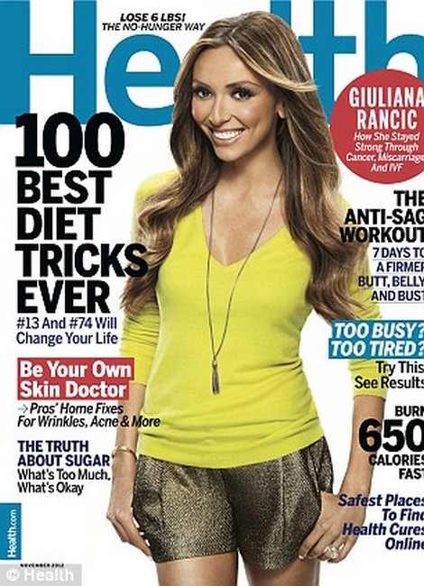 Giuliana Rancic Talks How She Got Through Infertility, Miscarriage and Breast Cancer