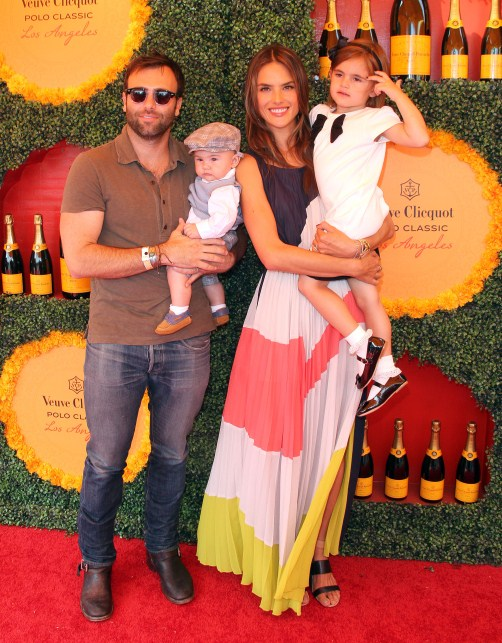 Alessandra Ambrosio and family at The Third Annual Veuve Clicquot Polo Classic in Pacific Palisades (129/147) DOWNLOAD IMAGE ADD TO LIGHTBOX CaptionThe Third Annual Veuve Clicquot Polo Classic held at The Will Rogers State Historic Park in Pacific Palisades, California on October 6th, 2012.