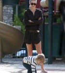Ali Larter and Hayes MacArthur Take Son Theodore to the Park