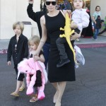 Angelina Jolie: My Kids Keep Me Grounded With Their Pooping