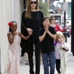 Angelina Jolie & Brad Pitt's Six Children Write To Santa