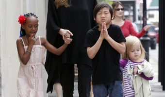 Angelina Jolie's Children To Appear In Her Upcoming Film