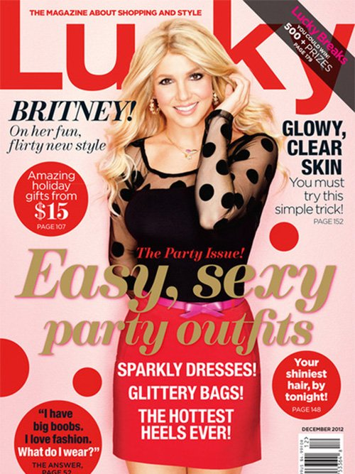 Britney Spears Lucky Magazine