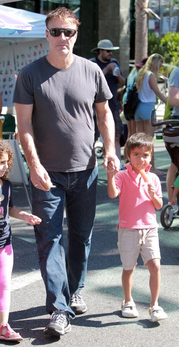 Chris Noth's Ice Cream Day With Orion