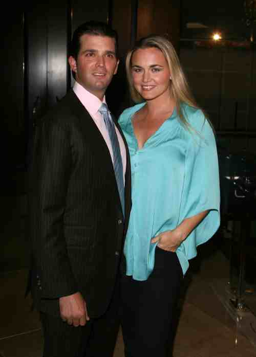 Donald Trump JR and Wife Vanessa