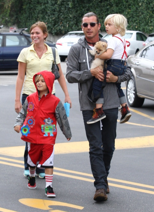 Gavin Rossdale Spends A Father-Son Day With His Boys