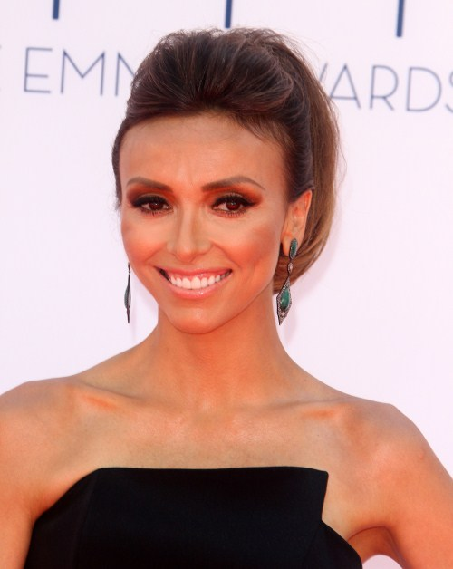 Giuliana Rancic at The 64th Primetime Emmy Awards held at The Nokia Theatre L.A.Live in Los Angeles, California on September 23rd, 2012.