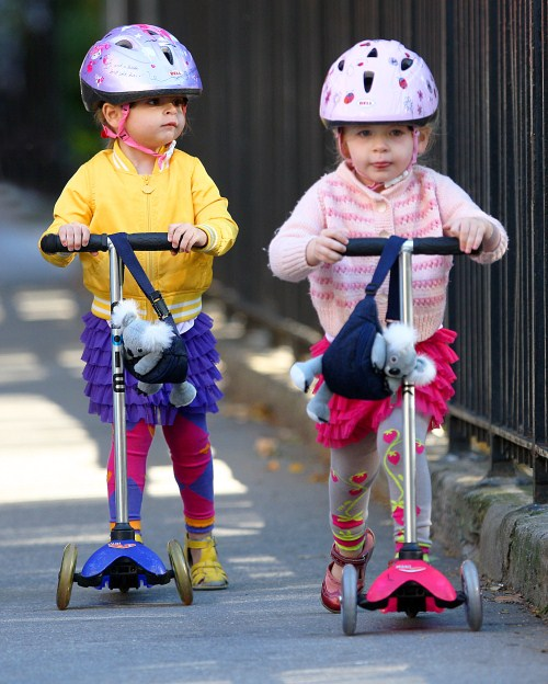 Guess The Celeb Parents Of These Little Scooter Cuties?