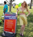 "Holly Madison attends ""Forever Home Family Picnic"" for people who have provided a home for a shelter dog at Freedom Park in Las Vegas, Nevada on October 13, 2012."