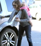 Jennifer Garner & Seraphina Make A Coffee Run