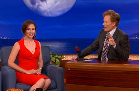Jennifer Garner On Conan