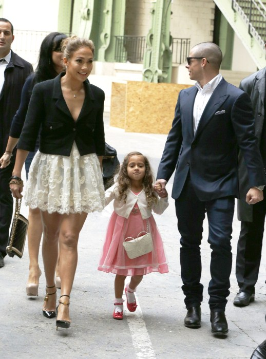 Jennifer Lopez Brings Emme To Her First Runway Show