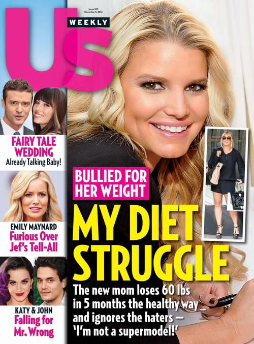 Jessica Simpson Covers US Weekly