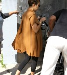 Kourtney Kardashian Heads To The Photo Studio
