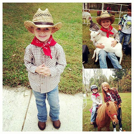 Teen Mom Maci Bookout Throws Son Cowboy Birthday Party