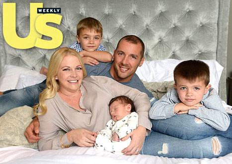 Melissa Joan Hart Debuts Newborn Son Tucker