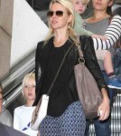 Naomi Watts Touches Down at LAX