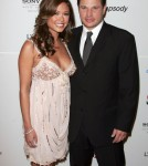 Nick Lachey & Vanessa Minillo attend the Clive Davis Pre-Grammy Party, Beverly Hilton Hotel, Beverly Hills, California