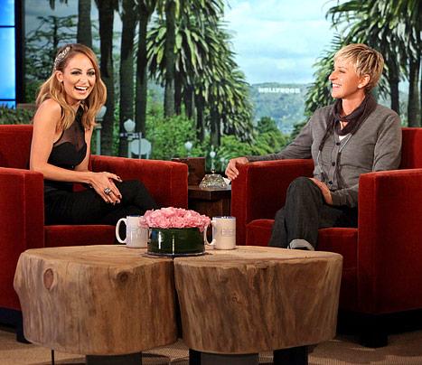 Nicole Richie On Ellen