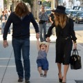 Rachel Zoe and Rodger Berman Take Son Skyler Shopping