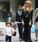 Rachel Zoe shops on Robertson Blvd. with her son Skyler in Beverly Hills, CA on October 12th, 2012.
