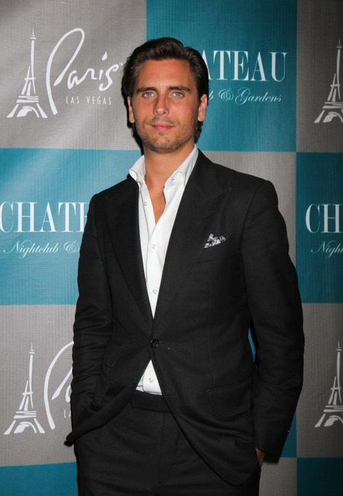 'Keeping Up With The Kardashians' reality TV star Scott Disick hosts at the Chateau Nightclub in Las Vegas, NV on September 29th, 2012.