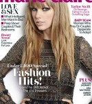 Taylor Swift on the cover of U.K. Marie Claire November issue