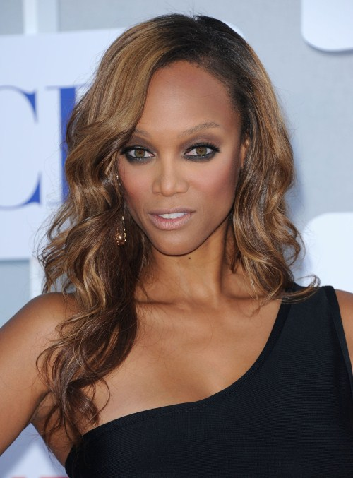 Tyra Banks at the CBS/Showtime/CW Summer Press Tour 2012 at the Beverly Hilton Hotel in Beverly Hills, California on July 29, 2012.