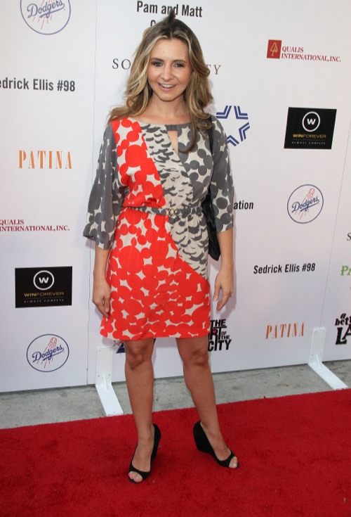 Beverley Mitchell at The First Annual in The Art Of The City Event in LA