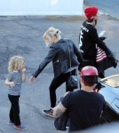 Semi-Exclusive... Ashlee Simpson And Pete Wentz Throw Bronx A Superhero Birthday Party