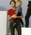 Marion Cotillard Takes Her Son Marcel To The Gucci Paris Masters