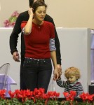 Marion Cotillard Takes Her Son To Paris Masters