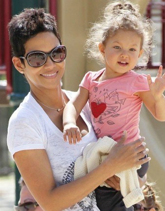 Halle Berry Takes Daughter Nahla Aubry To School Amid Controversy
