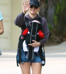 Anna Faris Takes Baby Jack For A Hike