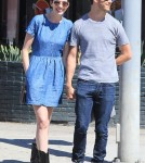 Semi-Exclusive... Anne Hathaway And Adam Shulman Share Some PDA