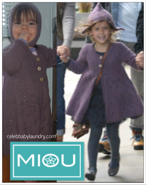 What's Ava Wearing Today? A Miou Coat & Bonnet
