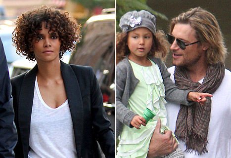 Gabriel Aubry & Olivier Martinez Brawl at Halle Berry's Home on Thanksgiving