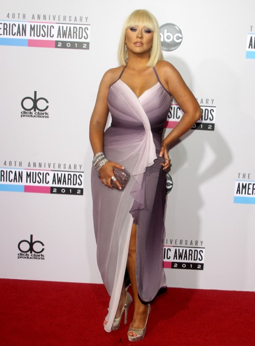 Celebrity Parents Attend The American Music Awards