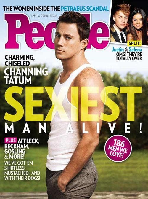 Channing Tatum Covers People Magazine