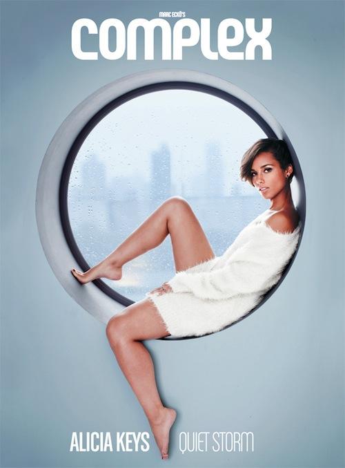 Alicia Keys Covers Complex